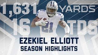 Ezekiel Elliott 2016 Rookie Season Highlights | NFL