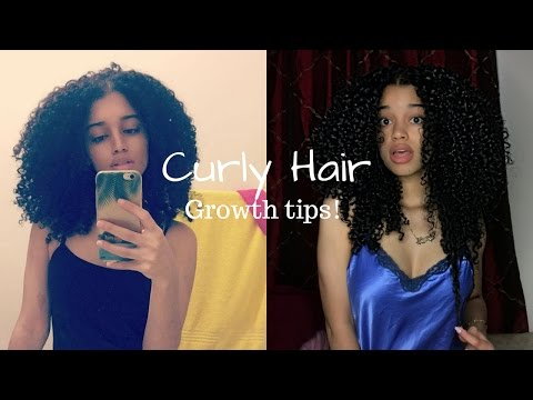 Tips on How To Grow Natural Curly Hair | 2017