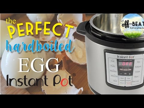How to Hard Boil Farm Fresh Eggs That Peel Perfectly!  (a Devilish Method!)