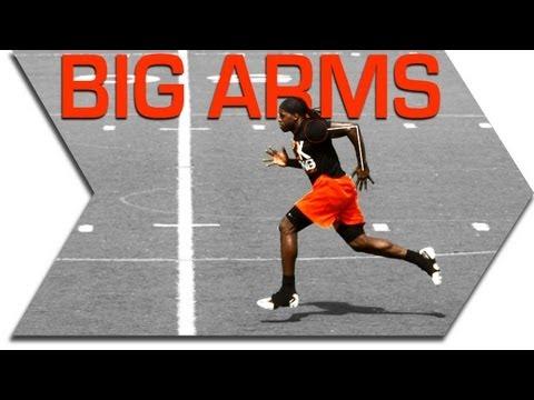 SPRINT FASTER - BIG ARM DRILL - SPEED TRAINING