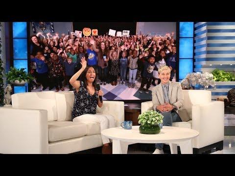 Ellen Surprises Deserving ESL Teacher