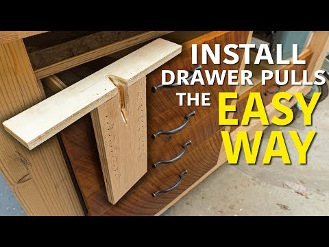 DIY Drawer Pull Jig