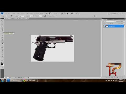How to :: Cut/Crop an image :: Photoshop CS4