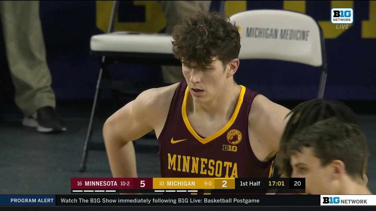 #16 Minnesota Golden Gophers vs #10 Michigan Wolverines 1-6-21