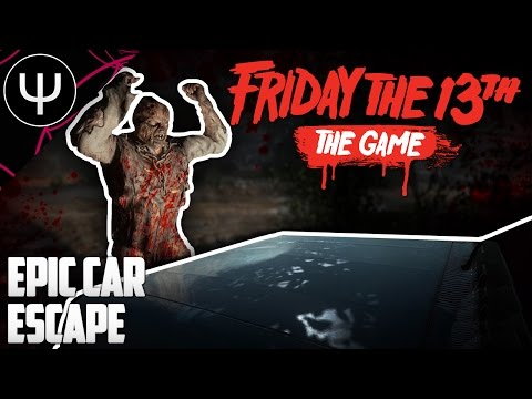 Friday the 13th: The Game — Epic Car Escape!