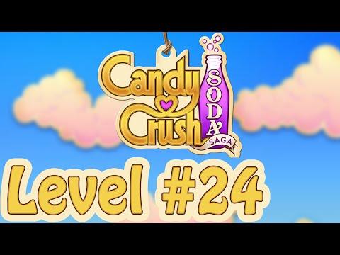 Candy Crush Soda saga - Level 24 guide