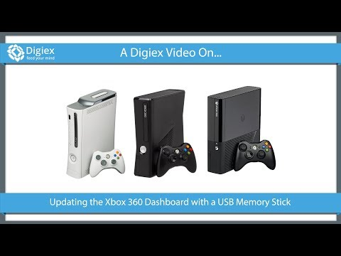 Update the Xbox 360 Dashboard with a USB Memory Stick