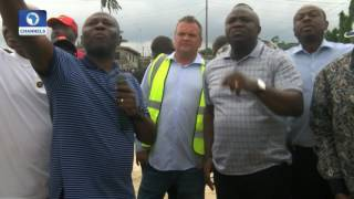 Dateline Lagos Ambode Inspects On going Projects In Lagos Island, Epe