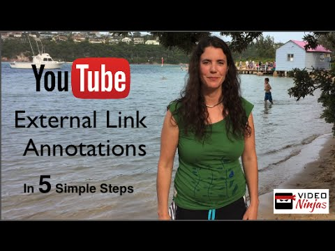 YouTube External Link Annotations in 5 Simple Steps! 2015