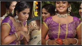 Apple Eating Challenge   Funny Malayalam Actress   Onam 2020