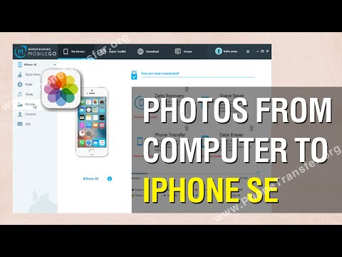 How to Transfer Photos from Computer to iPhone SE in Batch
