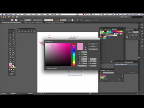 More on Shapes in Illustrator CS6