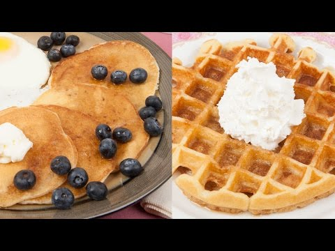 One Recipe For Buttermilk Pancakes and Waffles