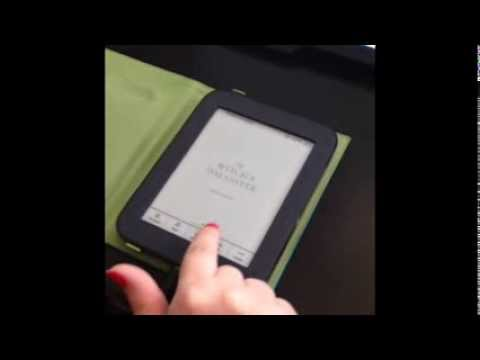 How to Download Library Books Onto a Nook Simple Touch