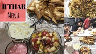 IFTHAR Menu-Fried Chicken Biriyani/Fruit chat/Bread snack/Paal Vazhakka-Taste Tours by Shabna hasker