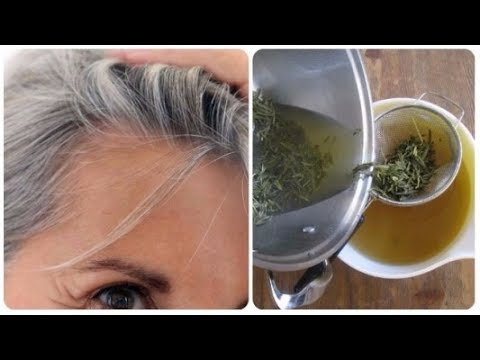 Use These Remedies To Cover Grey Hair! And Eliminate Them Without Using Dyes!