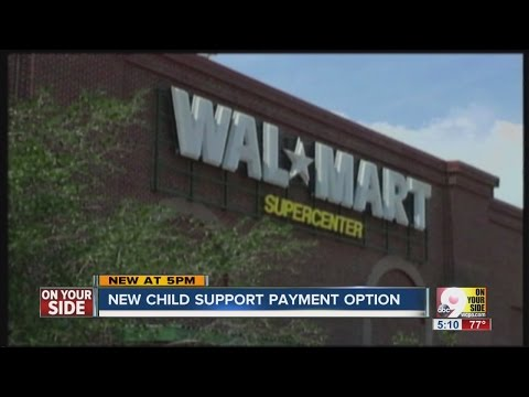 Ohio parents can pay child support at Walmart, CVS