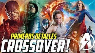 """""""EL CROSSOVER DE ESTE AÑO SERÁ MEJOR QUE EL ANTERIOR"""" The Flash Arrow Supergirl Legends Of Tomorrow!"""