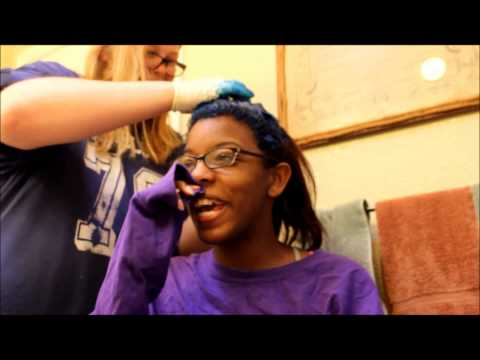 Dying My Hair Midnight Blue (Manic Panic)