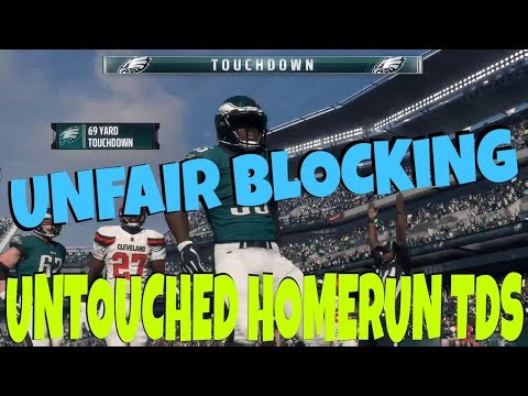 POUND THE ROCK! EASY MONEY RUN PLAYS FROM THE BEST RUNNING PLAYBOOK IN MADDEN 18! BEST EAGLES TIPS