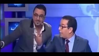 ههههههههههه رشيد شو في نشرة الأخبار 2M