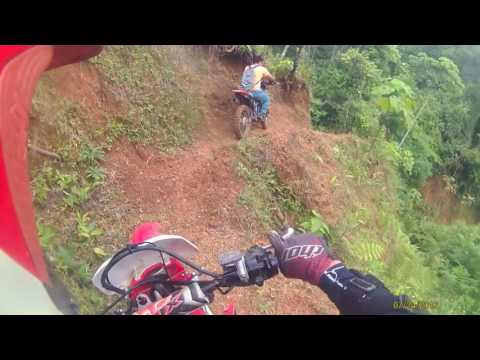Enduro, Costa Rica - la florida, riding a friends property