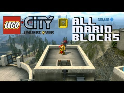 Lego City Undercover How to Find All Mario Blocks