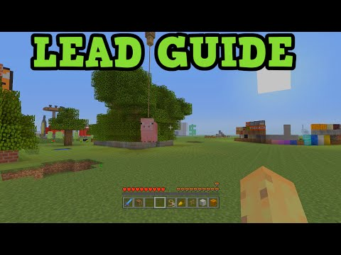 Minecraft Xbox 360 + PS3 - Lead Tutorial - Floating Mobs!
