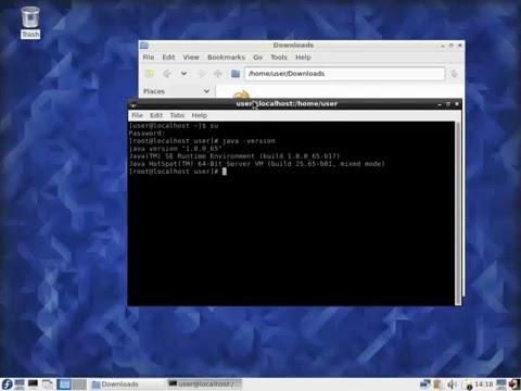 Installing JDK Fedora - 01 - Download and Install JDK