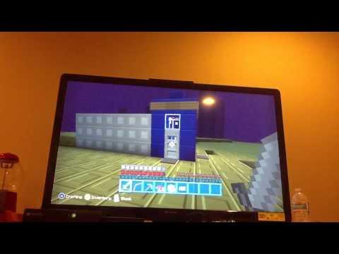 Minecraft xbox 360 doctor who tardis