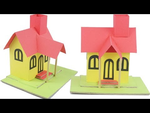 How to make a DIY Parer Cardboard House | TCraft