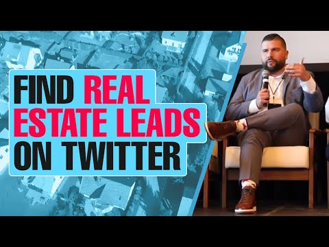 How to Find Real Estate Leads on Twitter