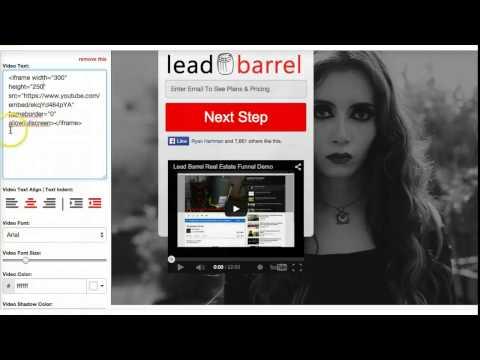 Leadbarrel Sales Vid Demo