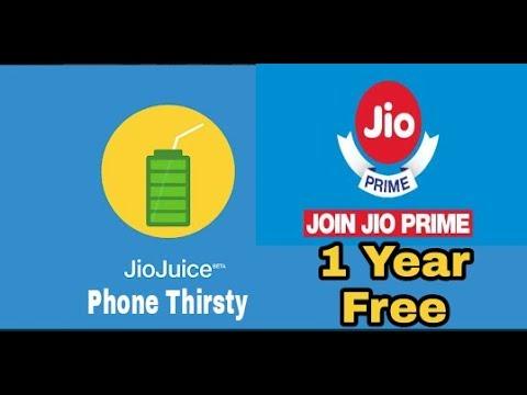Jio juice   Jio Prime membership free