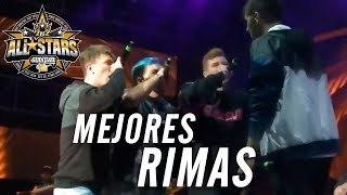 Las MEJORES RIMAS de la GOD LEVEL ALL STARS 2vs2 PERÚ 2019 - ¡INCREÍBLE!