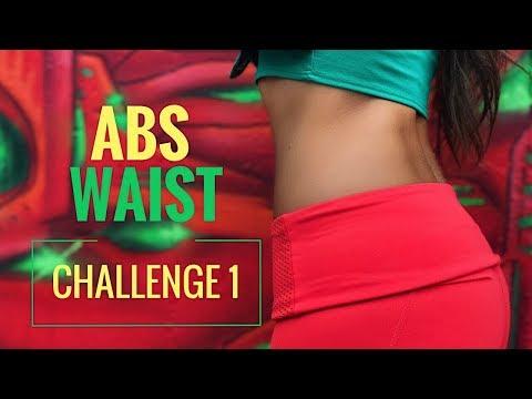 Slim Waist and Flatten Abs Ab Challenge 1