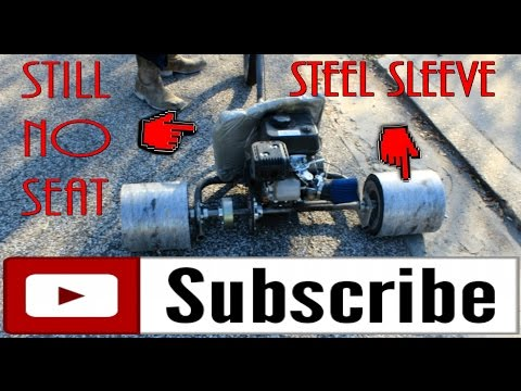 STEEL SLEEVED DRIFT TRIKE!!!! THROWING SPARKS!!!