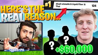 The REAL Reason Tfue's *NEW TRIO* Got 1st Place... (Fortnite Battle Royale)