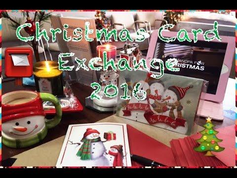 Christmas Card Exchange 2016