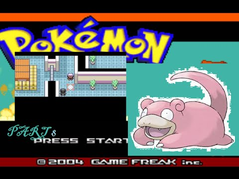Pokemon Fire Red- Slowpoke Solo Run-8 Doing things