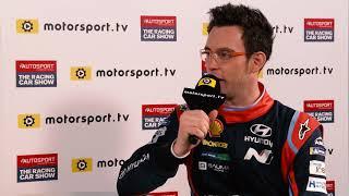 2018 Autosport International Show - Interview Thierry Neuville