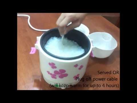 Mini Rice Cooker ID-188 - Cooking Porridge