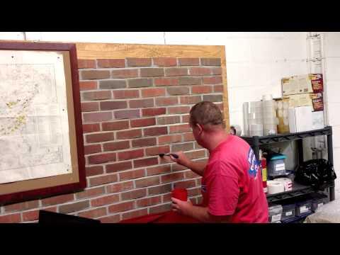 Masonry Cosmetics- Applying Stain to Mortar