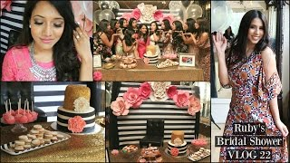 Ruby S Kate Spade Inspired Bridal Shower Vlog 22 Arzan Blogs