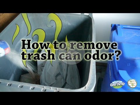 How to Remove Trash Can Odors? - Earthcare odor eliminators