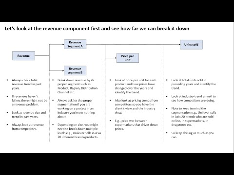 Management consulting - The Profitability framework explained | Preview
