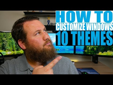 How to Customize and Add Themes in Microsoft Windows 10 and Similar