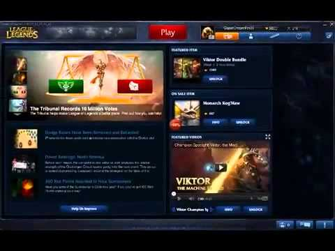 League of Legends- FREE working Riot points hack,Aatrox, the Darkin Blade WORKING March