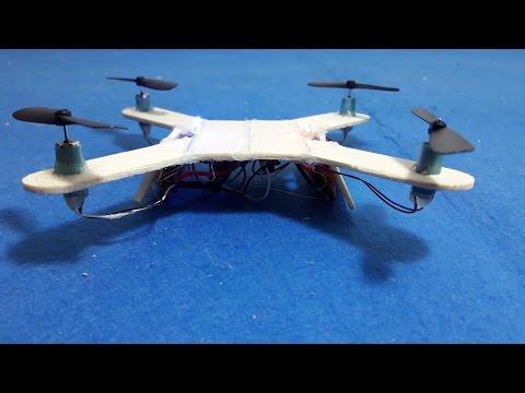 How To make a Mini Quadcopter - DIY Quadcopter