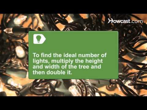How to Trim a Christmas Tree